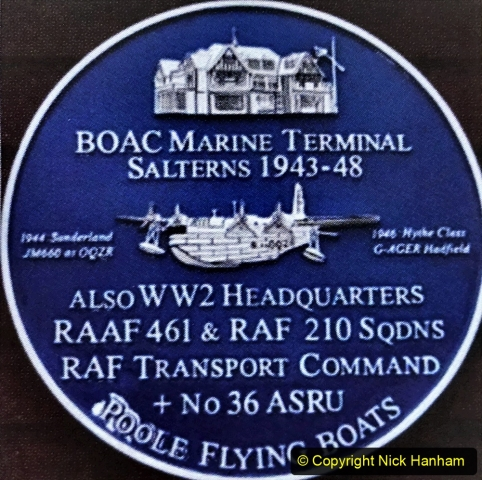 2020-07-07 Poole and Flying Boats. (10) 010 Local Blue Plaques.