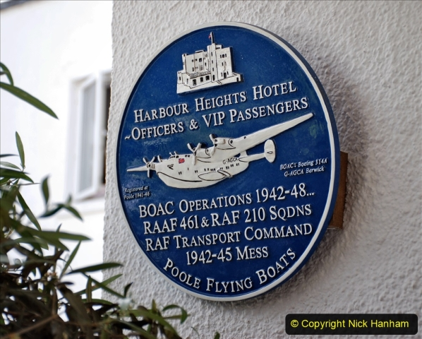 2020-07-07 Poole and Flying Boats. (25) 029 Harbour Heights Hotel.