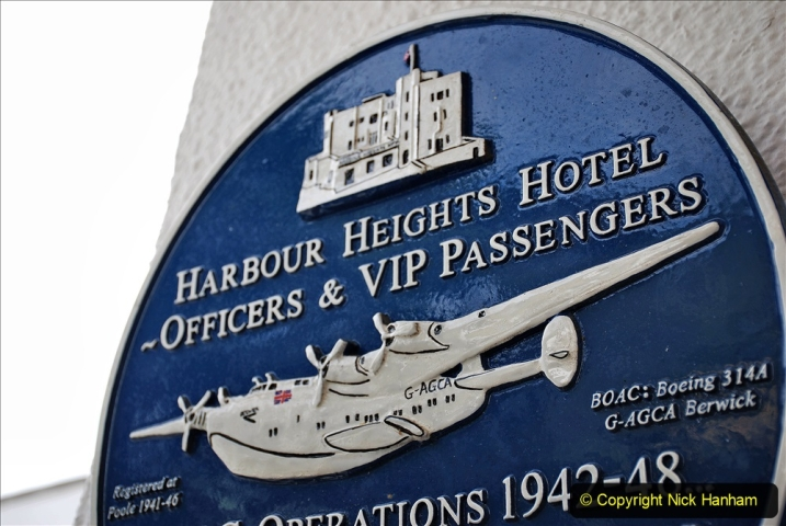 2020-07-07 Poole and Flying Boats. (27) 031 Harbour Heights Hotel.