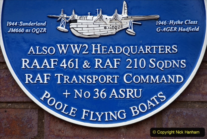 2020-07-07 Poole and Flying Boats. (46) 050 Imperial Airways & BOAC buildings at Lilliput.