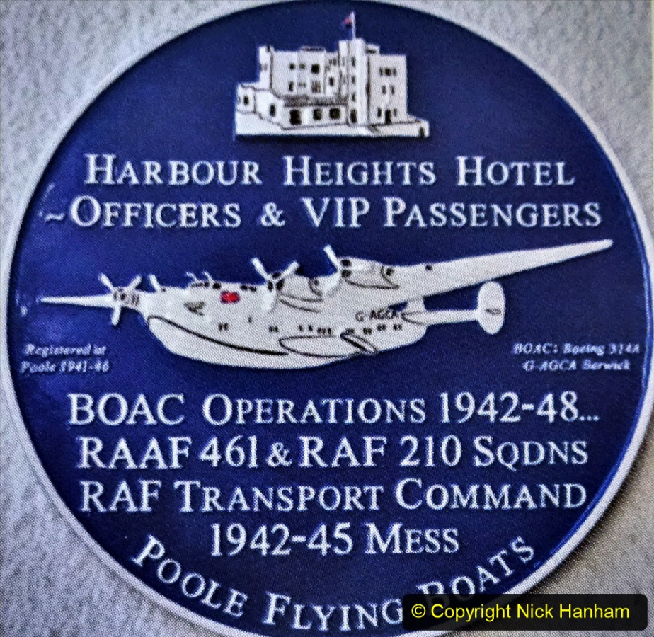 2020-07-07 Poole and Flying Boats. (9) 009 Local Blue Plaques.