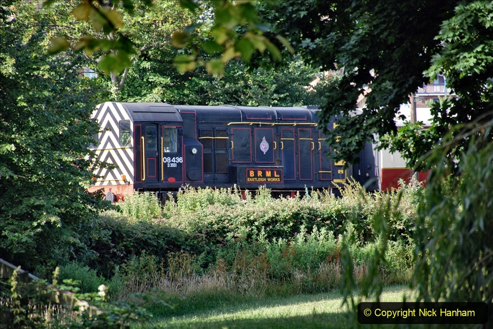 2020-07-18 First Steam Trains in Purbeck since Lockdown