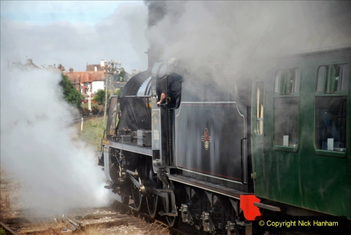 2020-07-18 First Steam Trains in Purbeck since Lockdown with U 31806. (104) 104