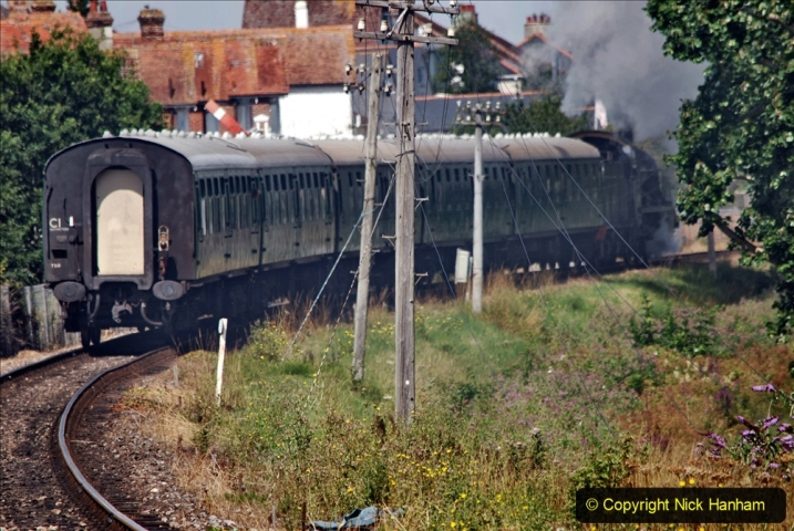 2020-07-18 First Steam Trains in Purbeck since Lockdown with U 31806. (108) 108