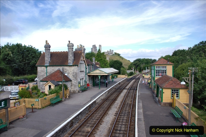 2020-07-18 First Steam Trains in Purbeck since Lockdown with U 31806. (109) 109