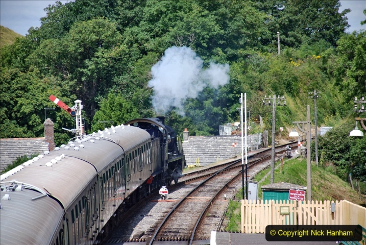 2020-07-18 First Steam Trains in Purbeck since Lockdown with U 31806. (125) 125