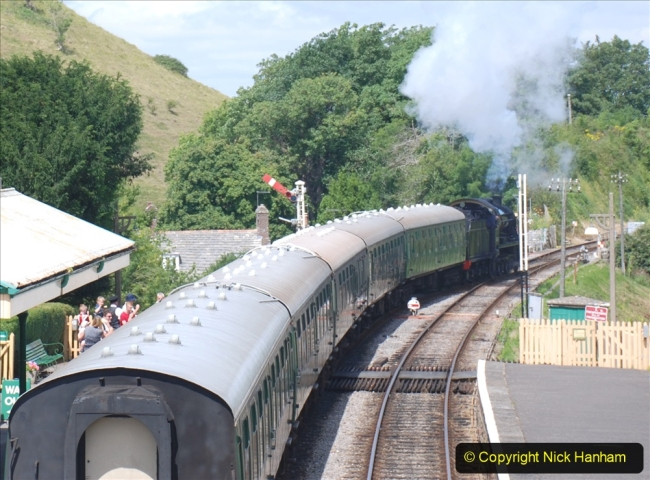 2020-07-18 First Steam Trains in Purbeck since Lockdown with U 31806. (126) 126