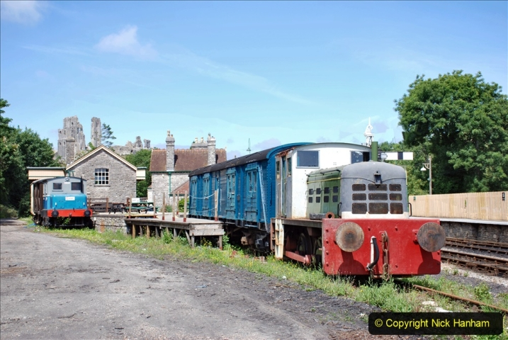 2020-07-18 First Steam Trains in Purbeck since Lockdown with U 31806. (128) 128