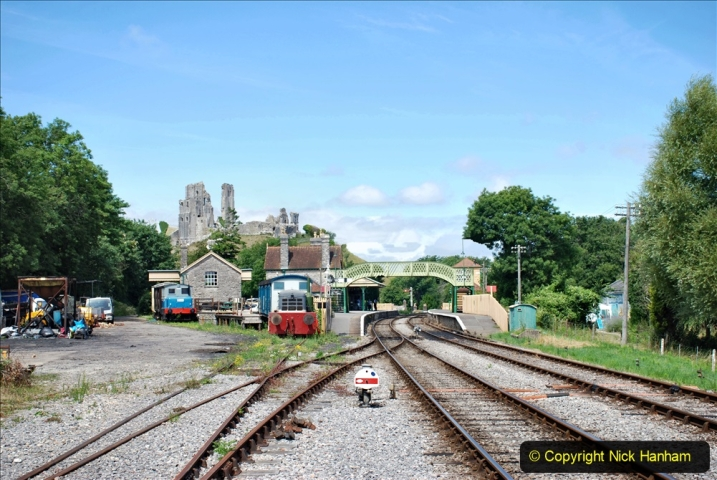 2020-07-18 First Steam Trains in Purbeck since Lockdown with U 31806. (129) 129