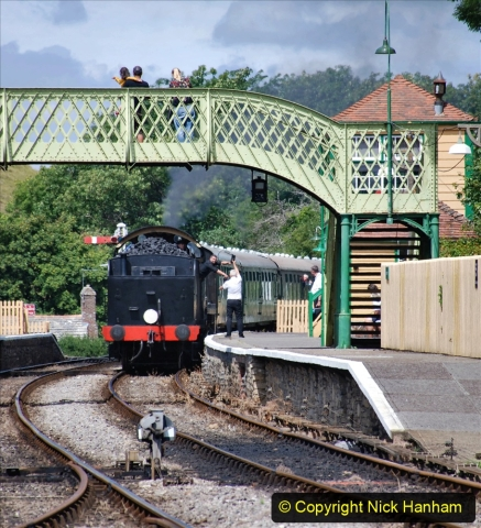 2020-07-18 First Steam Trains in Purbeck since Lockdown with U 31806. (133) 133