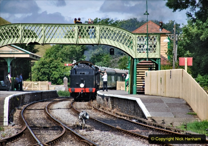 2020-07-18 First Steam Trains in Purbeck since Lockdown with U 31806. (134) 134