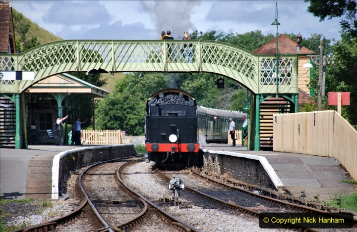 2020-07-18 First Steam Trains in Purbeck since Lockdown with U 31806. (136) 136