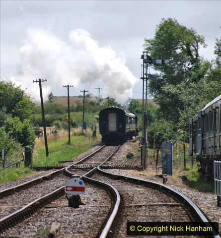 2020-07-18 First Steam Trains in Purbeck since Lockdown with U 31806. (147) 147