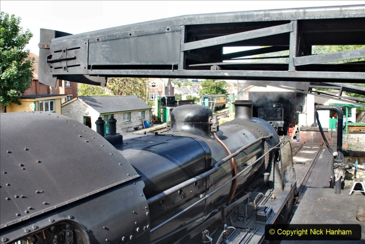 2020-07-18 First Steam Trains in Purbeck since Lockdown with U 31806. (20) 020
