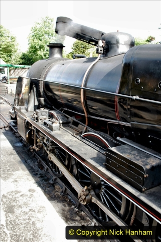 2020-07-18 First Steam Trains in Purbeck since Lockdown with U 31806. (23) 023