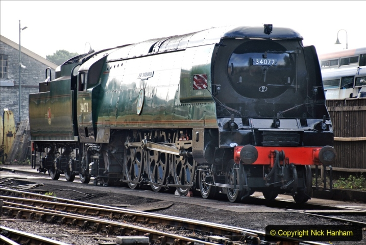 2020-07-18 First Steam Trains in Purbeck since Lockdown with U 31806. (29) 029