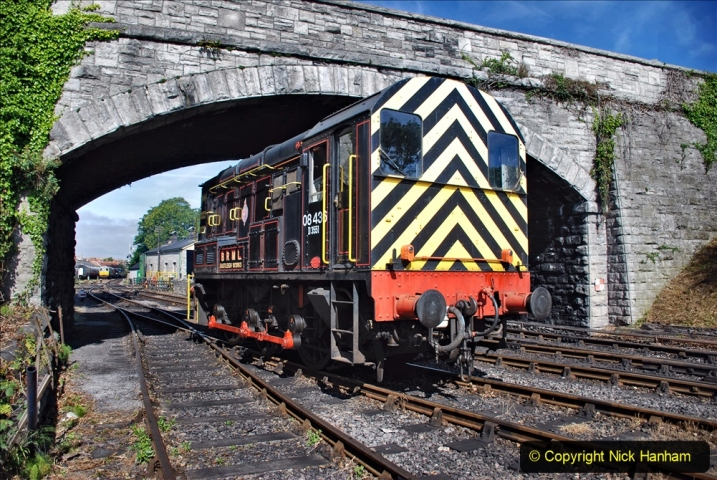 2020-07-18 First Steam Trains in Purbeck since Lockdown with U 31806. (51) 051