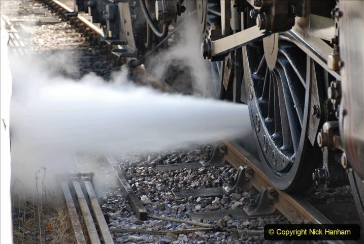 2020-07-18 First Steam Trains in Purbeck since Lockdown with U 31806. (79) Blowdown. 079
