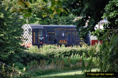 2020-07-18 First Steam Trains in Purbeck since Lockdown with U 31806. (1) 001