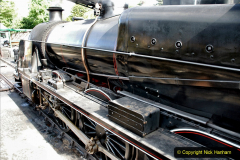2020-07-18 First Steam Trains in Purbeck since Lockdown with U 31806. (22) 022