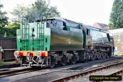 2020-07-18 First Steam Trains in Purbeck since Lockdown with U 31806. (30) 030