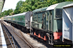 2020-07-18 First Steam Trains in Purbeck since Lockdown with U 31806. (38) 038