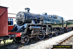2020-07-18 First Steam Trains in Purbeck since Lockdown with U 31806. (4) 004