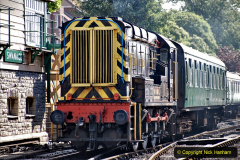 2020-07-18 First Steam Trains in Purbeck since Lockdown with U 31806. (57) 057