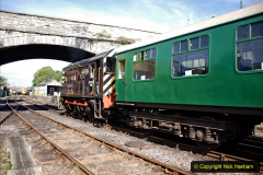 2020-07-18 First Steam Trains in Purbeck since Lockdown with U 31806. (59) 059
