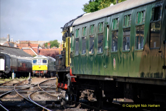 2020-07-18 First Steam Trains in Purbeck since Lockdown with U 31806. (60) 060