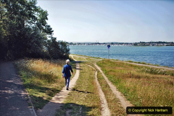 2020-07-31 Covid 19 Walk Poole Inner Harbour to Upton Country Park and return. (146)