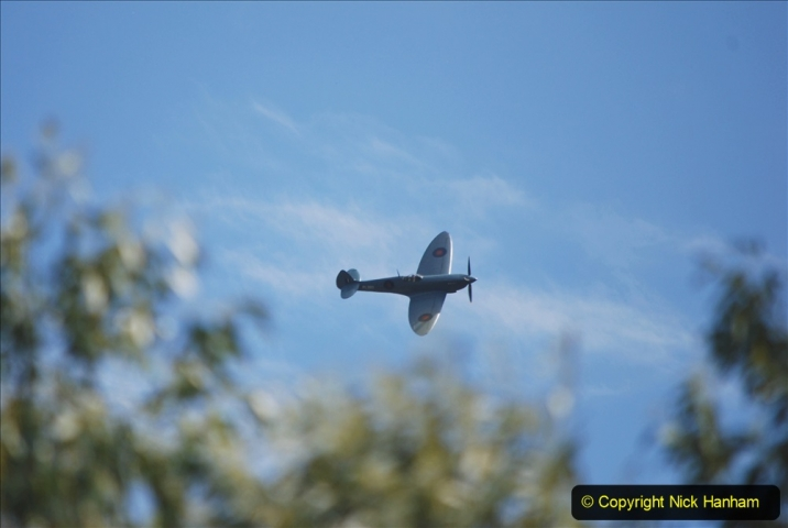 2020-08-01 Spitfire Tribute to NHS Staff @ 1520 Poole, Dorset. (23)