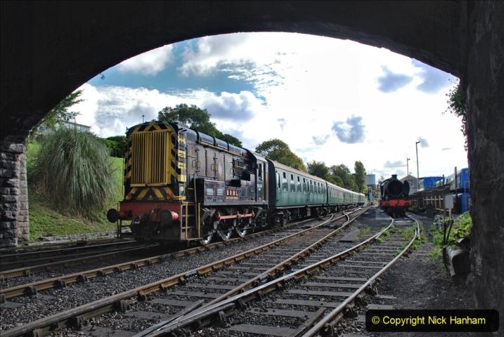 2020-09-02 Covid 19 running on the SR. (19) Service train wash. 019