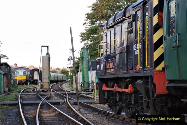 2020-09-02 Covid 19 running on the SR. (21) Service train wash. 021