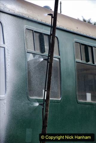 2020-09-02 Covid 19 running on the SR. (28) Service train wash. 028
