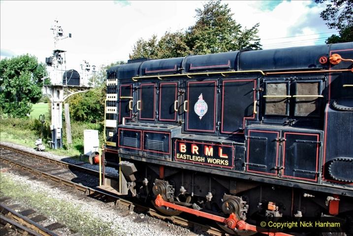 2020-09-02 Covid 19 running on the SR. (35) Service train wash. 035