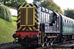 2020-09-02 Covid 19 running on the SR. (20) Service train wash. 020