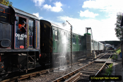2020-09-02 Covid 19 running on the SR. (33) Service train wash. 033
