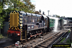 2020-09-02 Covid 19 running on the SR. (34) Service train wash. 034