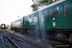2020-09-02 Covid 19 running on the SR. (38) Service train wash. 038