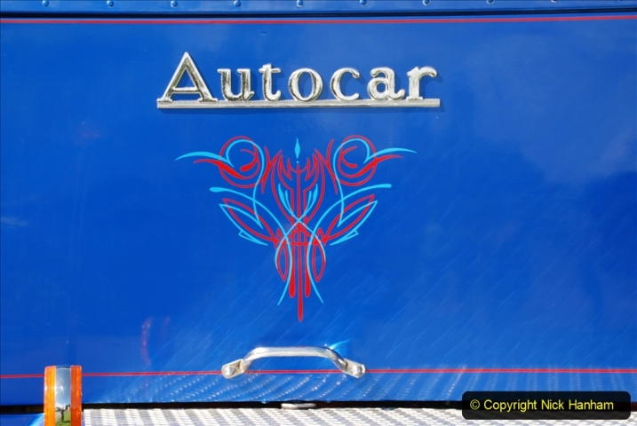 2020-09-05 Truckfest South West 2020 at Shepton Mallet. (183) A rare 8 legger American truck. 183