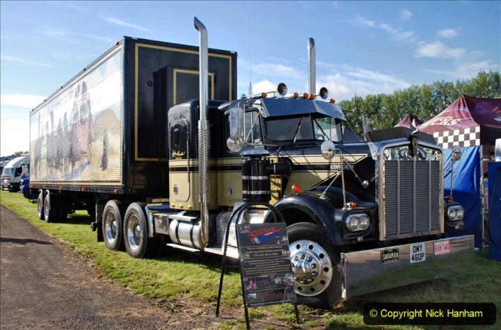 2020-09-05 Truckfest South West 2020 at Shepton Mallet. (55) A tribute to the Smokey and the Bandit film. 055