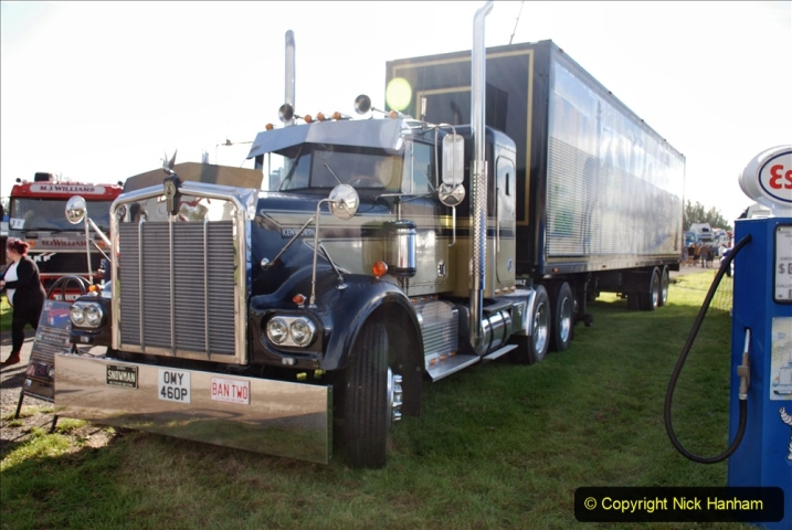 2020-09-05 Truckfest South West 2020 at Shepton Mallet. (56) A tribute to the Smokey and the Bandit film. 056