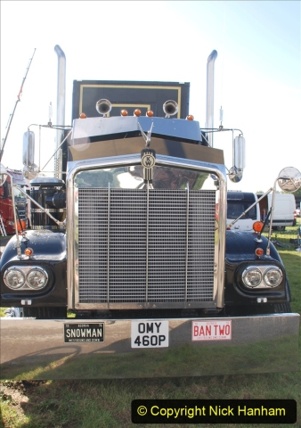 2020-09-05 Truckfest South West 2020 at Shepton Mallet. (57) A tribute to the Smokey and the Bandit film. 057