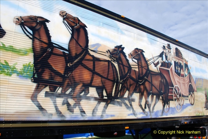2020-09-05 Truckfest South West 2020 at Shepton Mallet. (61) A tribute to the Smokey and the Bandit film. 061