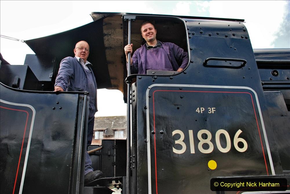 2020-09-10 Swanage & Corfe Castle plus ticket printing machine maintenance. at CC. (19) 019