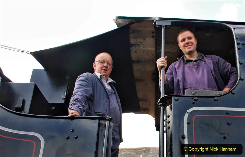 2020-09-10 Swanage & Corfe Castle plus ticket printing machine maintenance. at CC. (20) 020