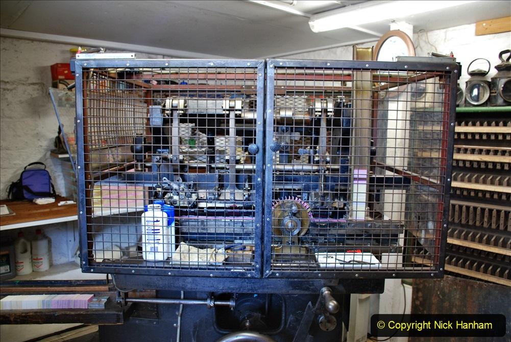 2020-09-10 Swanage & Corfe Castle plus ticket printing machine maintenance. at CC. (47) 047