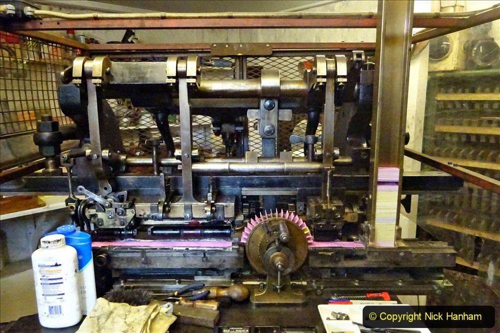 2020-09-10 Swanage & Corfe Castle plus ticket printing machine maintenance. at CC. (49) 049