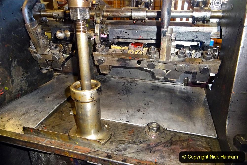 2020-09-10 Swanage & Corfe Castle plus ticket printing machine maintenance. at CC. (57) 057